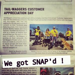 Tail-Waggers SNAP Aurora November edittion