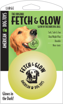 American Dog Toys - Fetch & Glow Ball