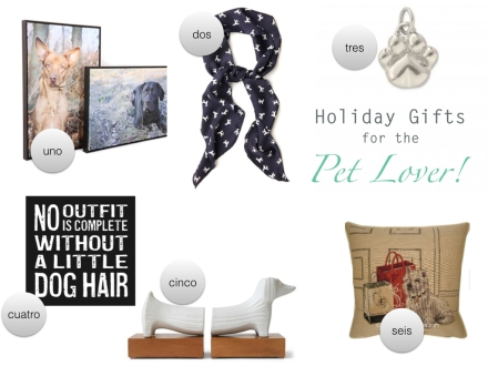 Holiday gift guide for pet lovers